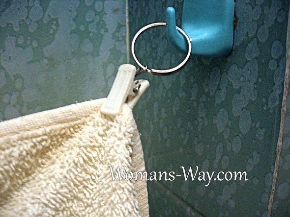 Крючок для полотенец своими руками